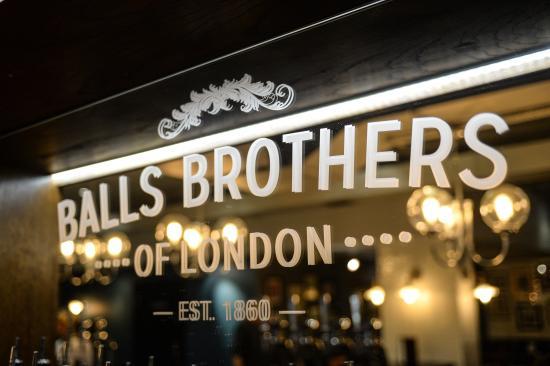 balls bros logo front