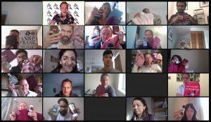 alvarez marsal virtual quiz zoom fun corporate
