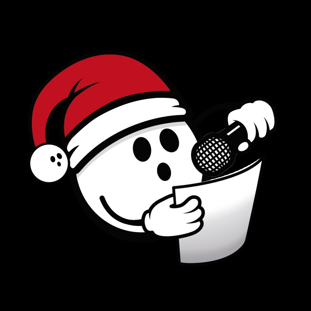 christmas coconut microphone