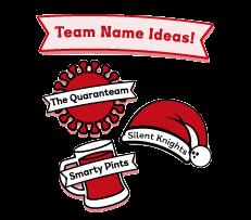 quiz team names christmas